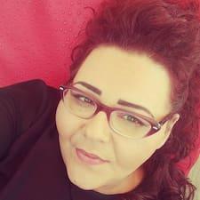 Teresa felhasználói profilja