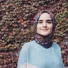 Saliha felhasználói profilja