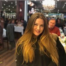 Angelina felhasználói profilja