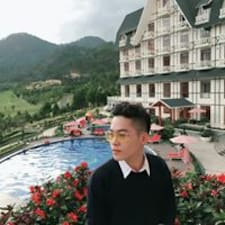 Henkilön Hùng käyttäjäprofiili