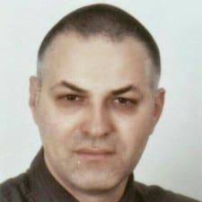 Siniša felhasználói profilja