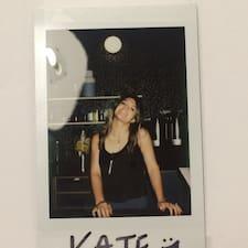 Perfil do usuário de Kate