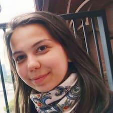 Veronika felhasználói profilja