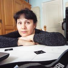 Henkilön Olga käyttäjäprofiili