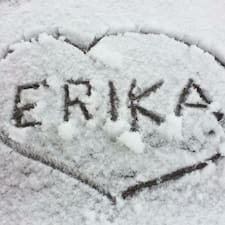 Perfil do usuário de Erika