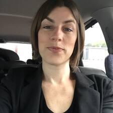 Användarprofil för Amy