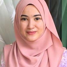Syahira felhasználói profilja