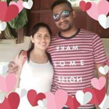 Sharmila felhasználói profilja