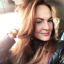Лена felhasználói profilja