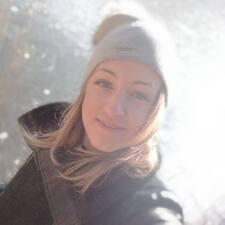 Maja felhasználói profilja