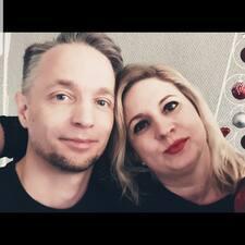 Användarprofil för Sandra & Knut