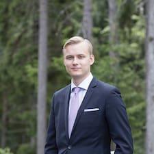 Henkilön Rasmus käyttäjäprofiili