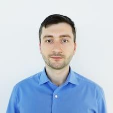 Adonis felhasználói profilja