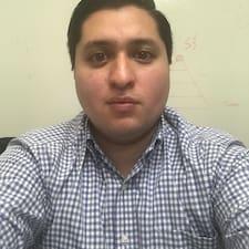 Patricio felhasználói profilja
