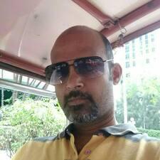 Gautham felhasználói profilja