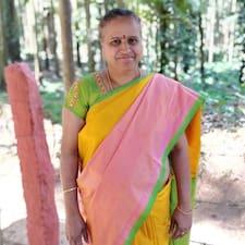 Användarprofil för V K Savithri