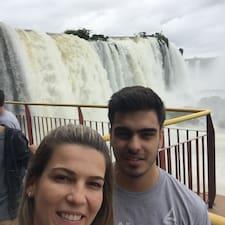 Daniela E Seu Filho Kaue felhasználói profilja