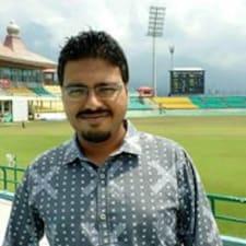 Henkilön Arindam käyttäjäprofiili