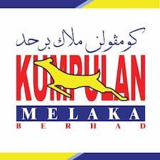 Perfil do utilizador de Kumpulan Melaka