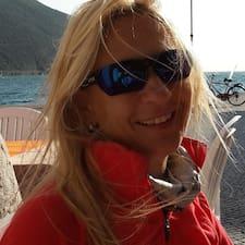 Helga felhasználói profilja