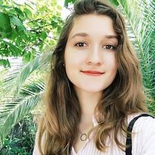 Profil utilisateur de Juliette