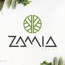 Henkilön Zamia käyttäjäprofiili