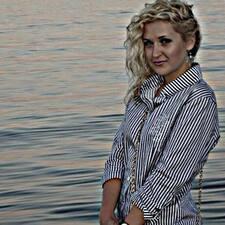 Alesya felhasználói profilja