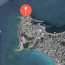 Tyre Residence - Uživatelský profil