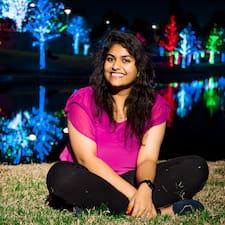 Perfil do usuário de Anuradha