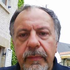 Henkilön Jean Michel käyttäjäprofiili