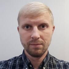 Användarprofil för Вадим