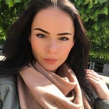 Liudmyla felhasználói profilja