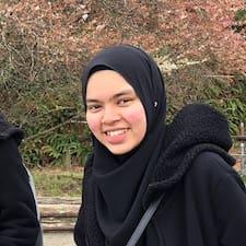 Profil utilisateur de Irdhina Nazifah