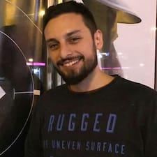 Diego felhasználói profilja