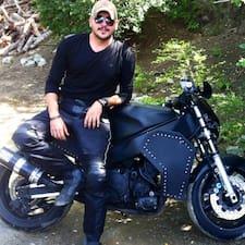 Gilberto felhasználói profilja
