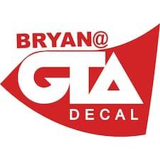 Perfil do utilizador de Bryan
