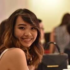 Trina felhasználói profilja