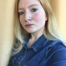 Profil utilisateur de Ксения