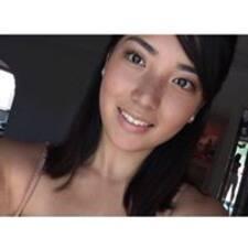 Deena felhasználói profilja
