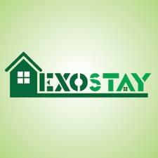 Exostay felhasználói profilja
