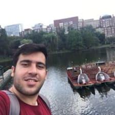 Hossein felhasználói profilja