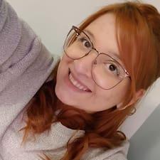 Vitória felhasználói profilja