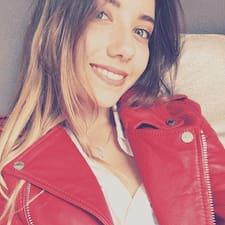 Coralie felhasználói profilja