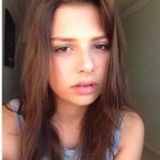 Thuani felhasználói profilja