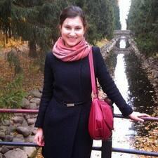 Användarprofil för Ксения