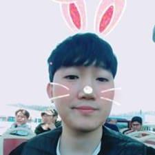 Minseon felhasználói profilja