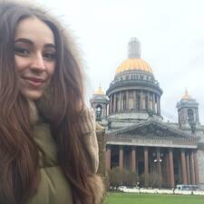 Profil utilisateur de Елизавета