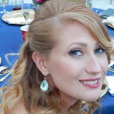 Tiffany felhasználói profilja