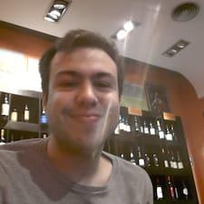 Perfil do utilizador de Tiago