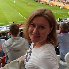 Profil utilisateur de Оксана